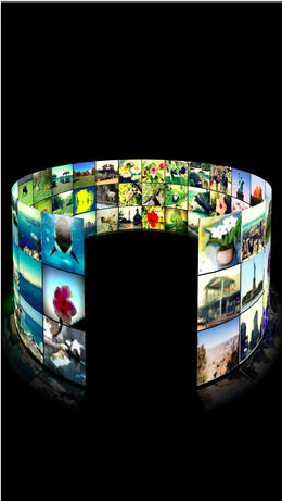 3d photo ring - picture browser to organize, manage, search and sort photos by color or time
