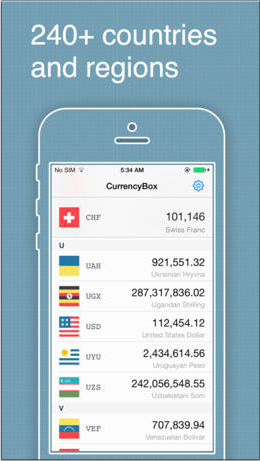 currencybox pro - exchange rates and currency converter