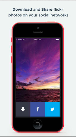 pure - browse, upload, comment, download, favorite, and share flickr photos with a whole new perspective