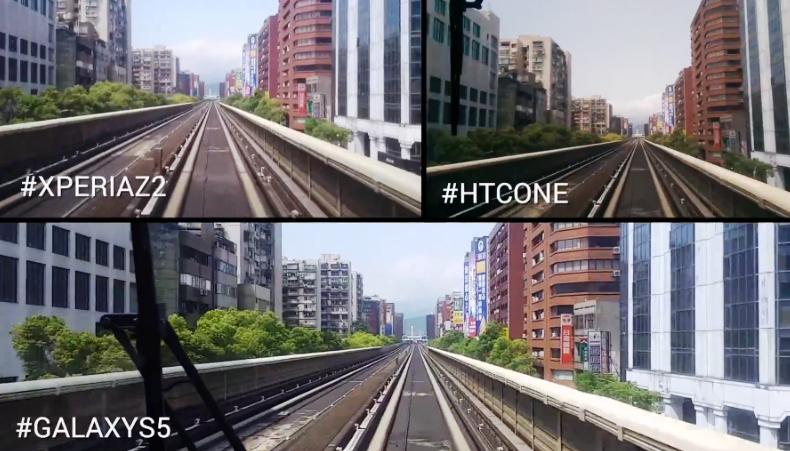 ทดสอบการลดภาพสั่นไหวระหว่าง Sony Xperia Z2, Samsung Galaxy S5 และ HTC One M8