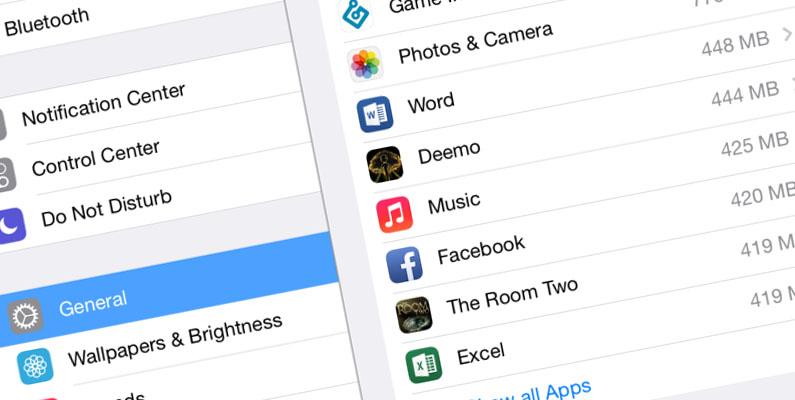 การตรวจสอบขนาดแอพบน iPad เลือกลบได้อย่างง่ายดาย