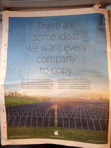 """Apple แขวะ Samsung อีกแล้ว ในโฆษณารักษ์โลก """"มีบางสิ่งที่เราอยากจะให้ทุกบริษัทเลียนแบบ"""""""