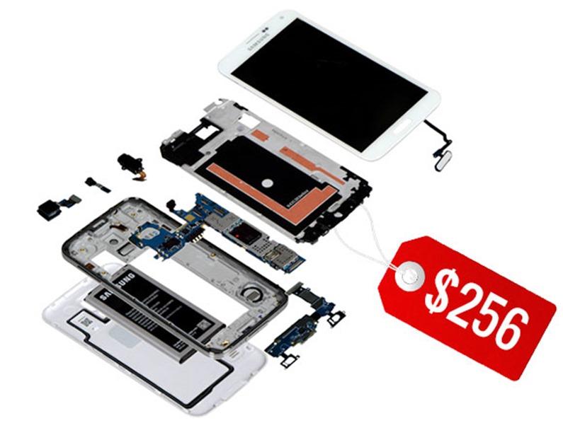 แฉหมดเปลือก Samsung Galaxy S5 ใช้ต้นทุนการผลิตเครื่องแค่ $256 เท่านั้น