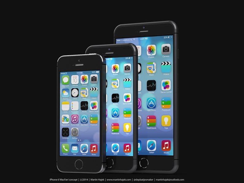 iPhone 6 ขอบบาง เครื่องบาง โค้งมน สวยไม่สวยมาดูกัน