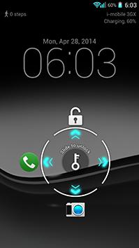 User interface For i-mobile IQ X KEN