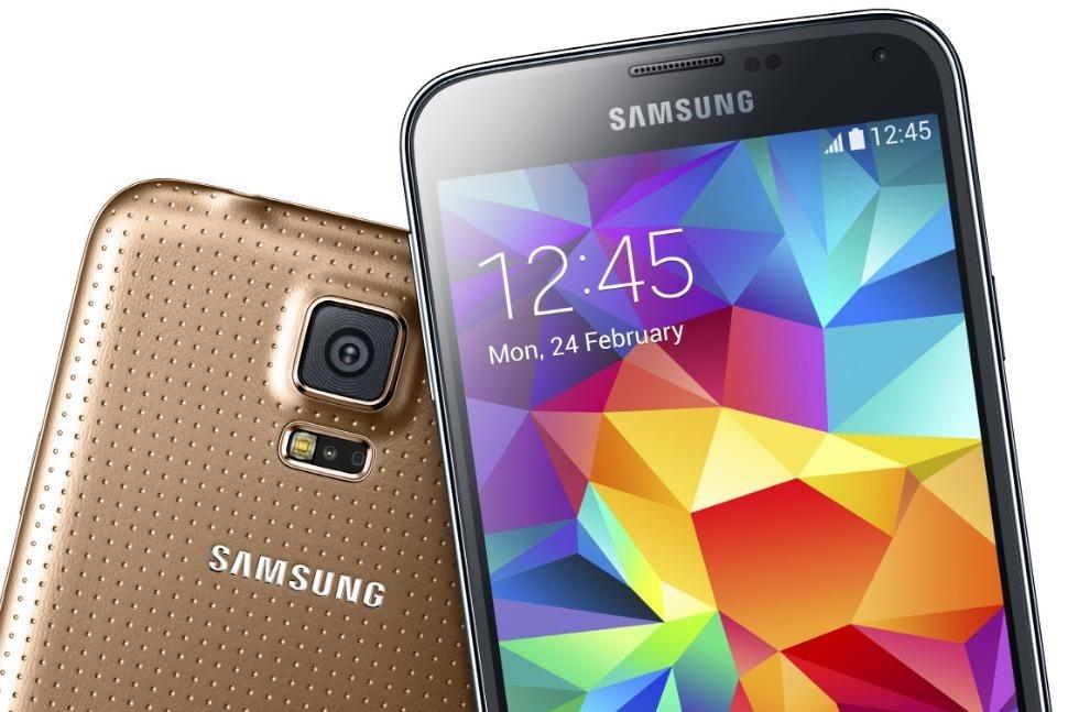 Galaxy-S5-Copper-Gold-Close-Top