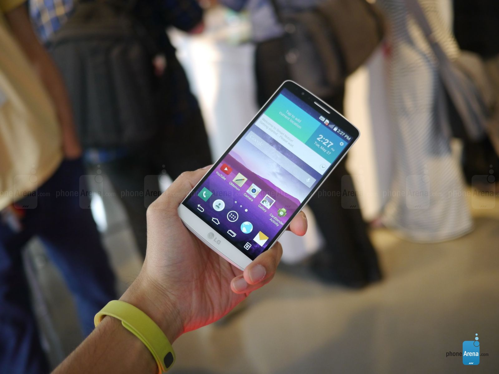 Hands-on LG G3 5