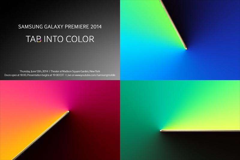 Samsung เตรียมเปิดตัว Tablet ใหม่ในงาน Galaxy Premiere 2014 คาดจะมาพร้อมจอ AMOLED