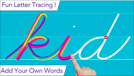 cursive writing wizard - trace letters & words