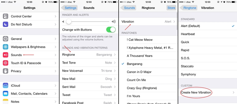 Vibrate iPhone Tip 01