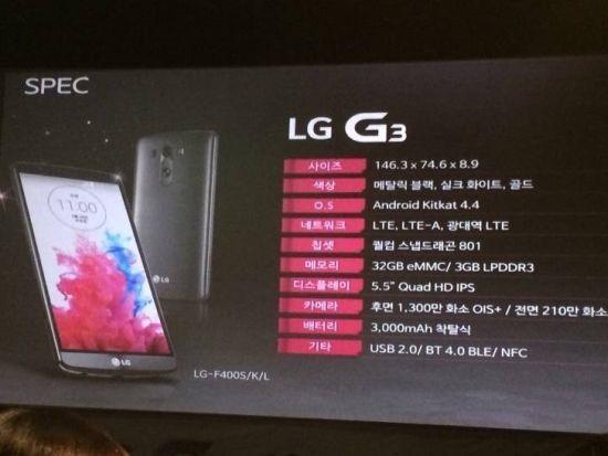 ไม่ต้องรอเปิดตัว พรีเซนท์เทชันเผยทุกอย่างของ LG G3 ออกมาแล้ว