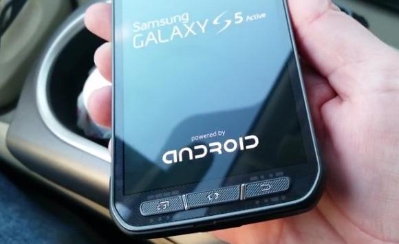 คลิปแรก Samsung Galaxy S5 Active กับดีไซน์เครื่องสุดบึกบึน