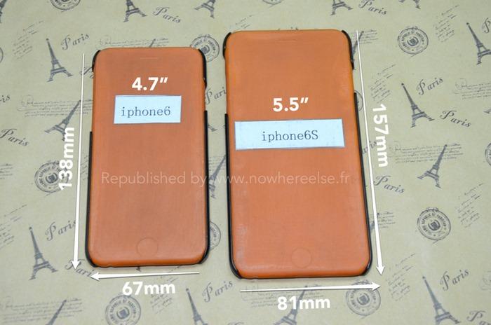 โผล่ภาพ เคส iPhone 6 ขนาด 5.5 นิ้ว พร้อมขนาดอย่างละเอียด