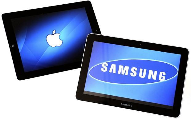 Samsung เริ่มตีตื้น Apple ในตลาด Tablet
