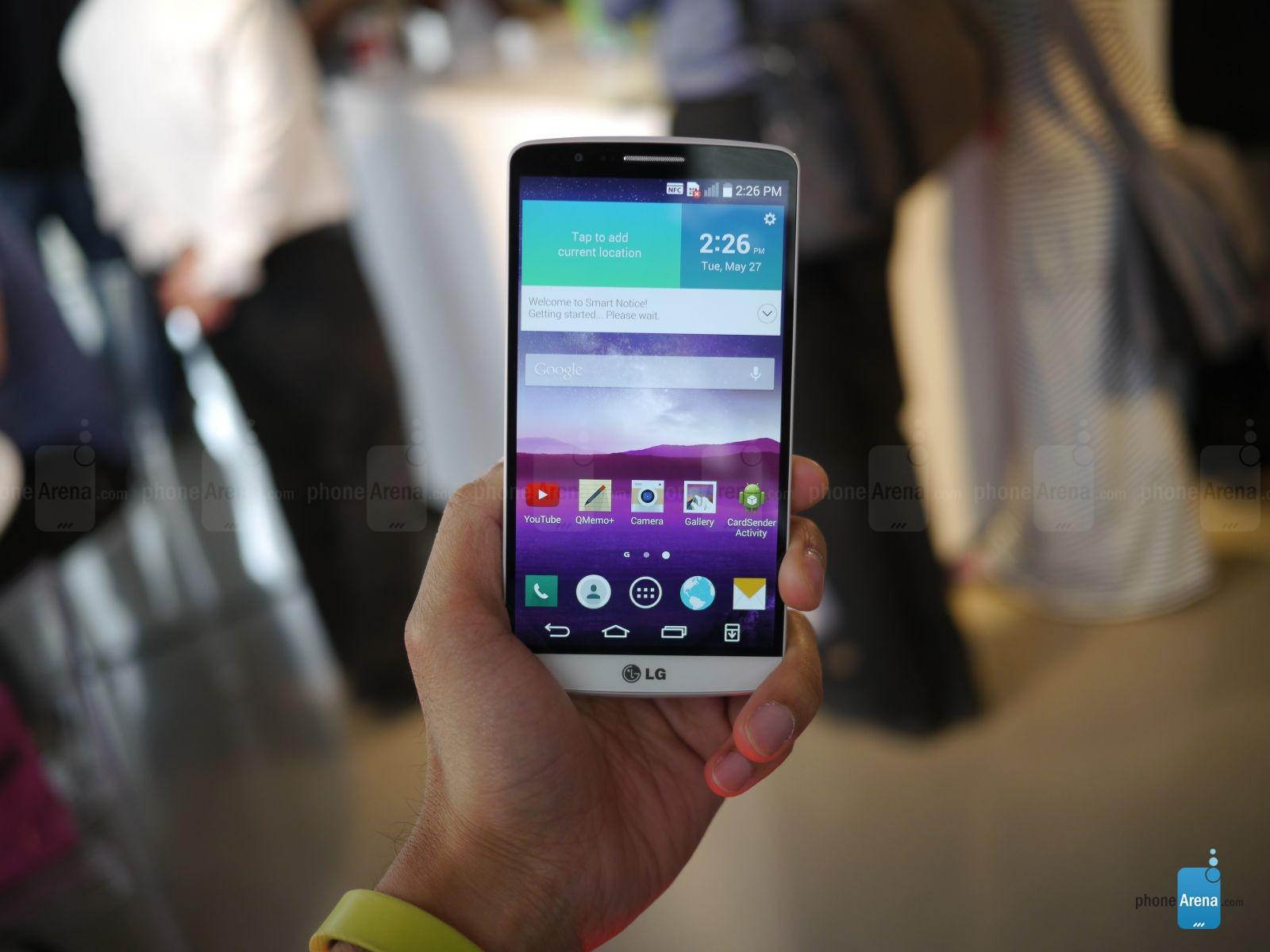 Hands-On LG G3 ในงานเปิดตัวจากเว็บไซต์ต่างประเทศ