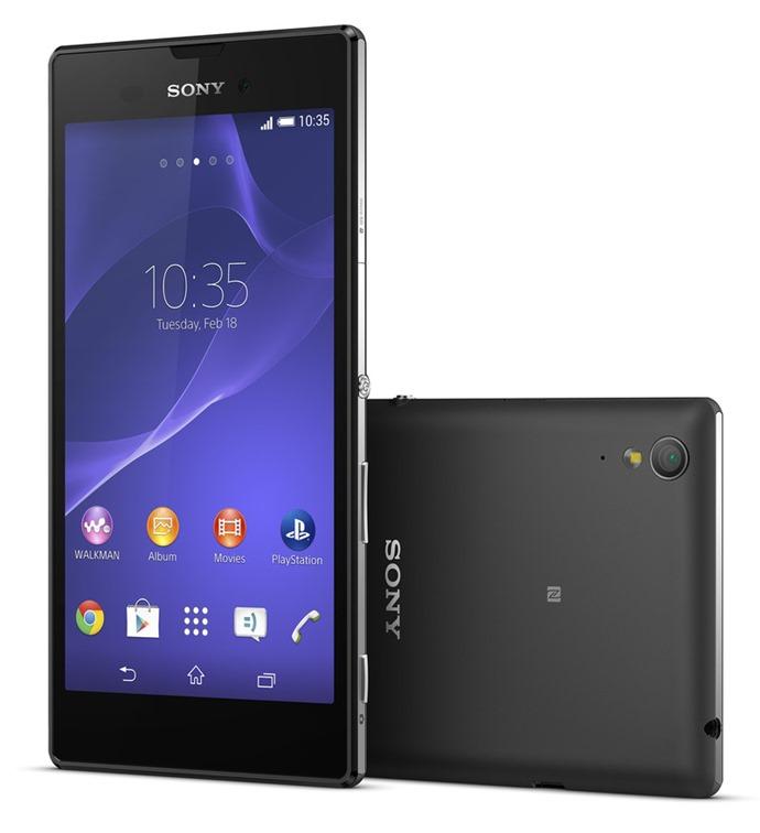 Sony เปิดตัว Xperia T3 จอ 5.3 นิ้วระดับกลาง สุดบางเพียง 7 มิลลิเมตร