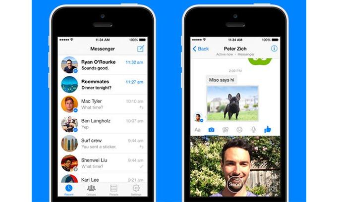 Facebook Messenger เตรียมอัพเดตใหม่ ส่งคลิป 15 วินาทีโดยตรงจากแอพพลิเคชั่นได้เลย