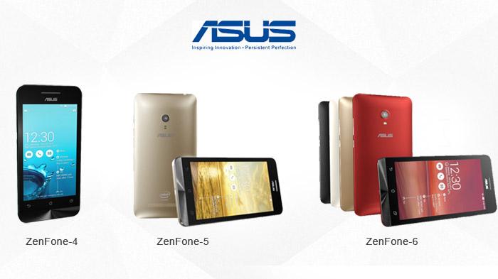 Asus Zenfone 4 5 6