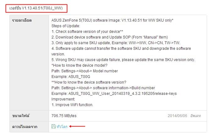 Asus Zenfone 5 Firmware 04