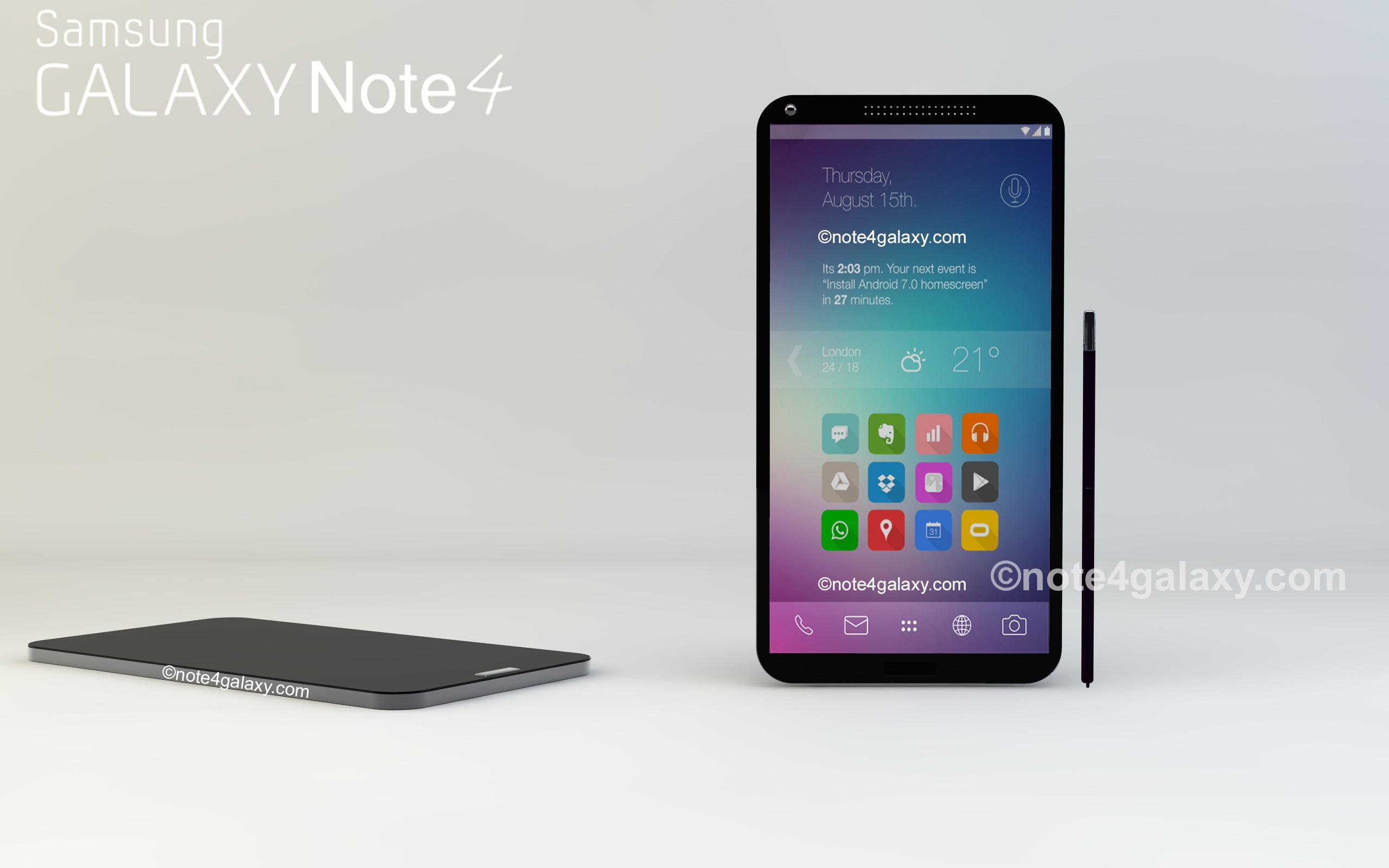 หลุดสเปค Samsung Galaxy Note 4 มี 2 เวอร์ชั่นเหมือนเดิม ว่าแต่จะดราม่าเหมือน Note 3 อีกมั้ย?