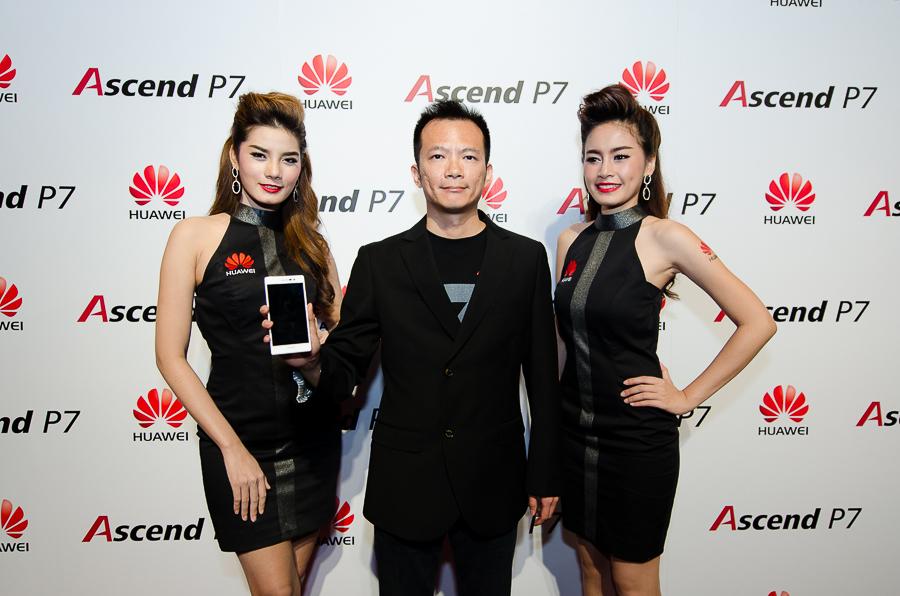 [Hands-on] Huawei Ascend P7 สมาร์ทโฟนรองรับ 4G ที่บางที่สุดในประเทศไทย พร้อมบรรยากาศงานเปิดตัว