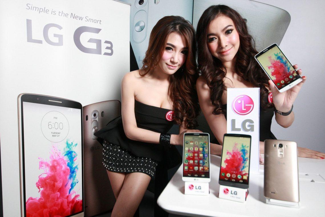 LG เปิดตัว LG G3 ในประเทศไทย นิยามใหม่ของความเรียบง่ายและชาญฉลาด