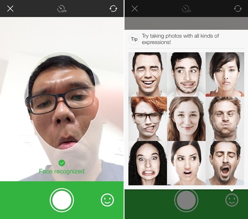 Line Selfie Sticker 01