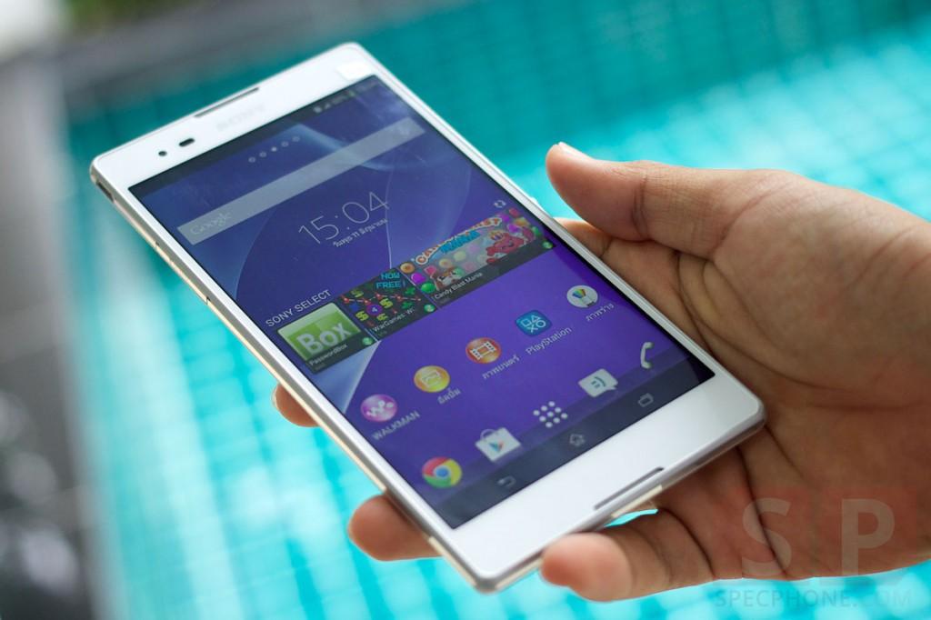[Review] รีวิว Sony Xperia T2 Ultra Dual แฟ็บเล็ตจอใหญ่ ใช้งานได้ 2 ซิมในราคาหมื่นต้นๆ จากค่ายอารยธรรม