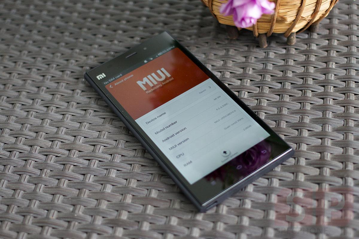 [Review] Xiaomi Mi3 มือถือจีน Snapdragon 800 แรม 2GB จอ Full HD ในราคาหมื่นต้นๆ