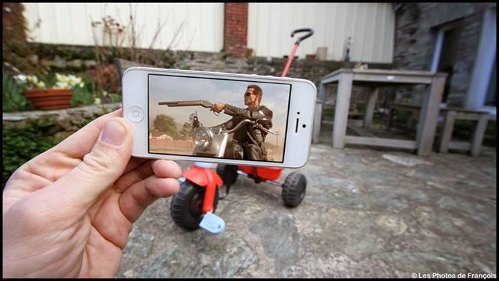 เนียนเลย – จะเกิดอะไรขึ้นเมื่อตัวละครในหนังมาอยู่บนโลกความเป็นจริง ด้วย iPhone 5