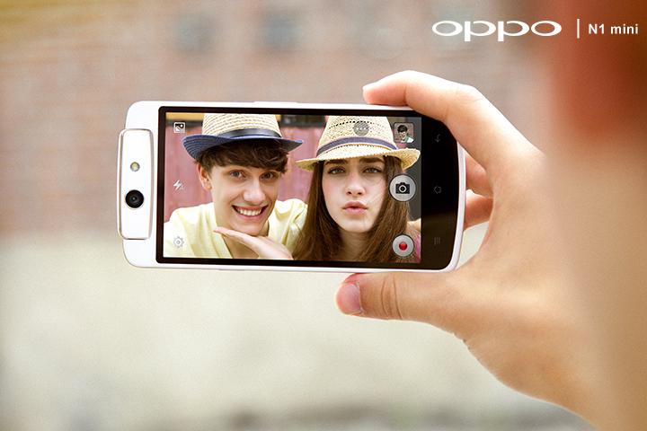 Oppo N1 mini พลิกมุมมองเปลี่ยนมุมมัน พร้อมข้อแตกต่างกับ Oppo N1