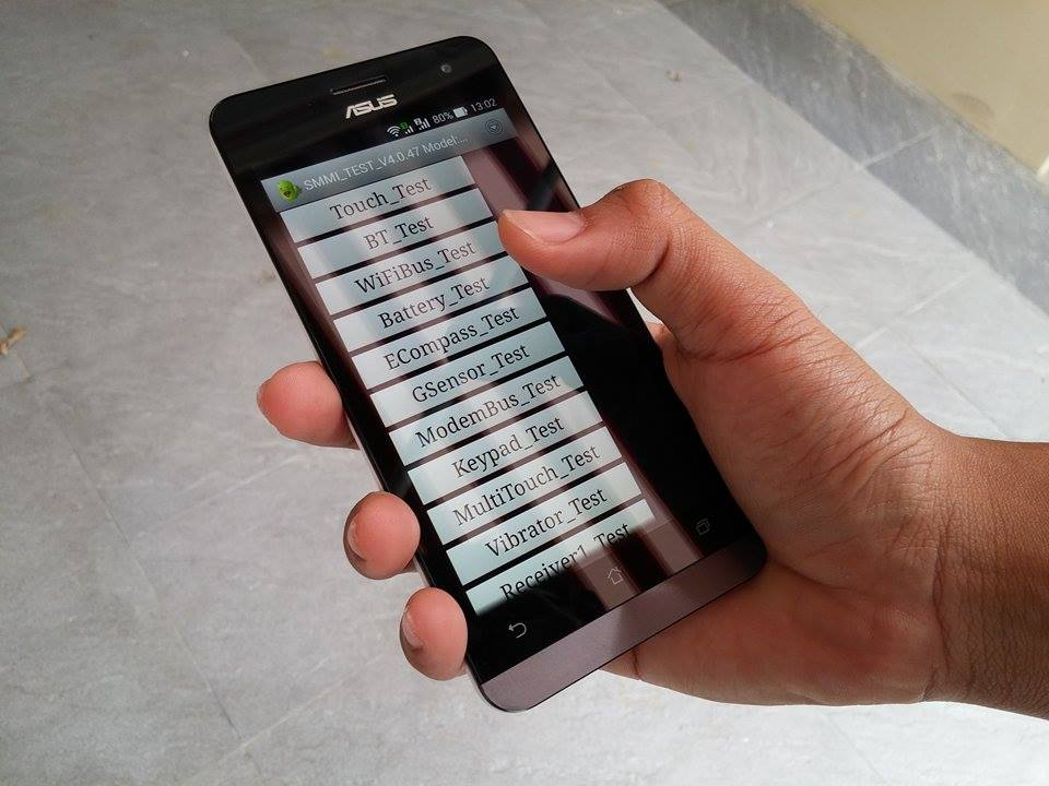 วิธีเข้าโหมดทดสอบเครื่อง Asus Zenfone 4, Asus Zenfone 5 และ Asus Zenfone 6