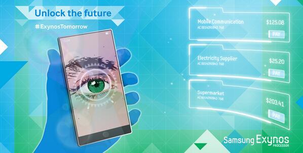 ล้ำอีกแล้ว Samsung อาจจะทำระบบสแกนม่านตาใส่มาใน Note 4