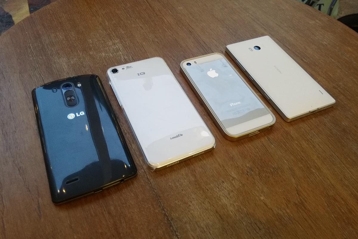 เทียบกล้อง iPhone 5s, LG G3, Nokia Lumia 930 และ i-mobile IQ 6.1 แบบช็อตต่อช็อต