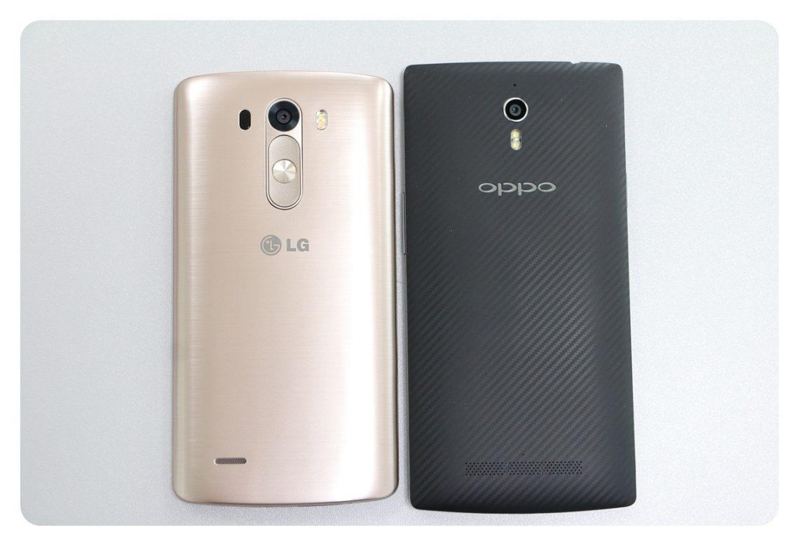 [PR] ลองจับเทียบสมาร์ทโฟนจอQHD 2 รุ่นดัง OPPO Find7 และ LG G3