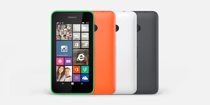Nokia เปิดตัว Lumia 530 รุ่นต่อของ Windows Phone ที่ขายดีที่สุด มากับ WP 8.1