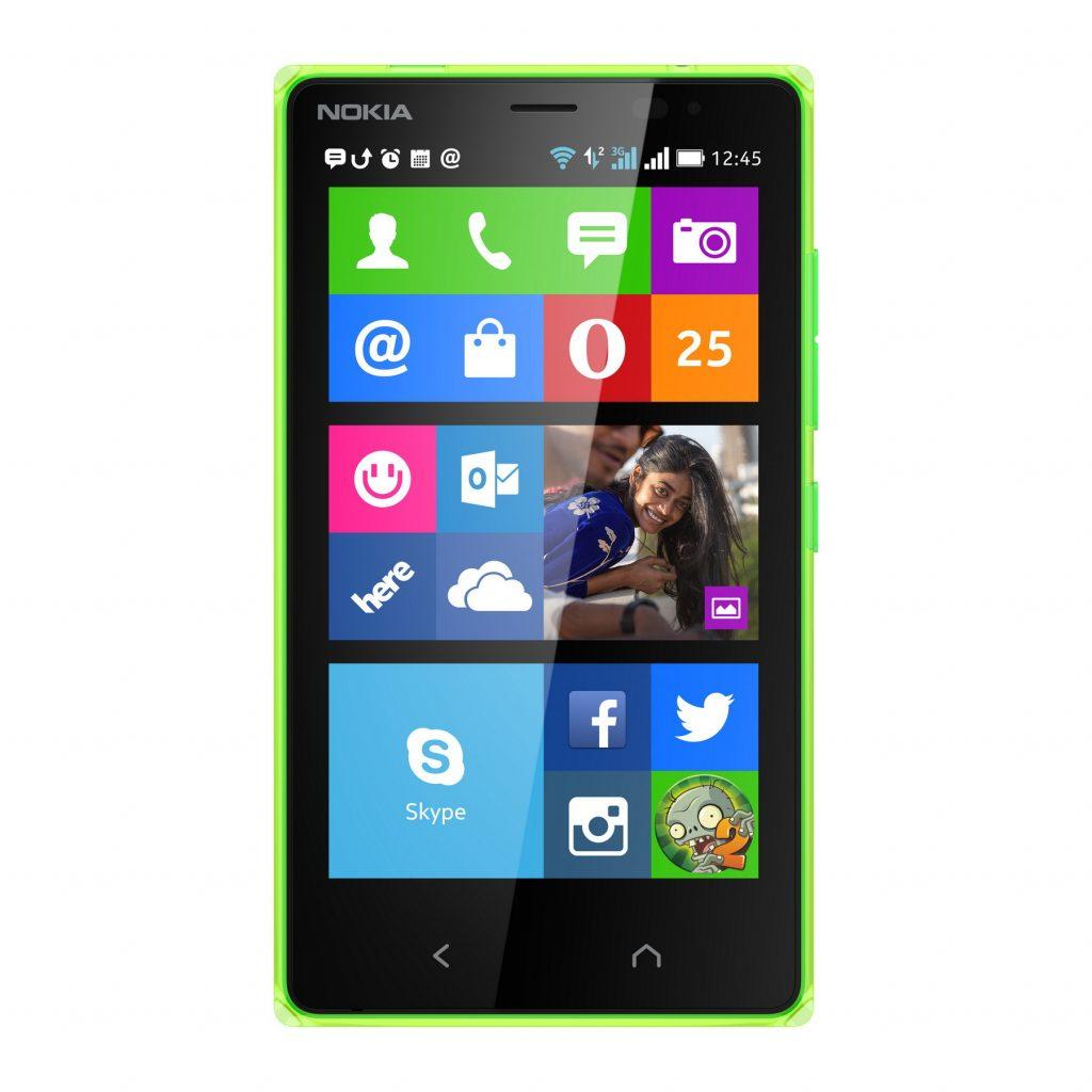Nokia X2 green