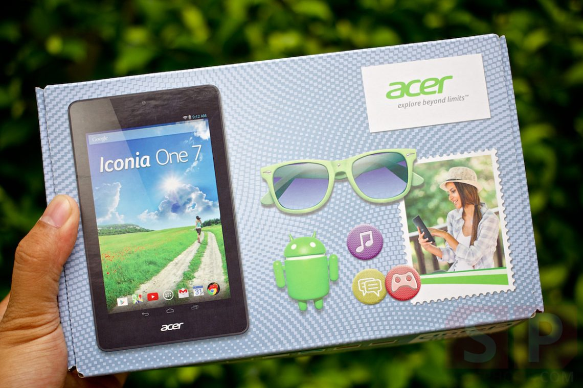 [Review] รีวิว Acer Iconia One 7 (B1-730HD) ราคาจิ๊บๆแต่สเปคจัดเต็ม