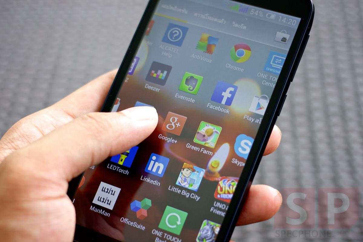 Review Alcatel Pop C7 SpecPhone 009