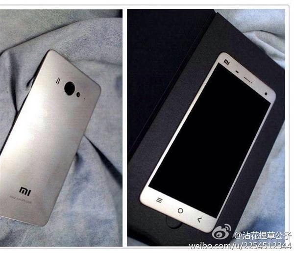 หลุดก่อนเปิดตัว! มาดูหน้าตา Xiaomi Mi4 แบบเต็มๆ แต่ฝาหลังเป็นพลาสติกนะ