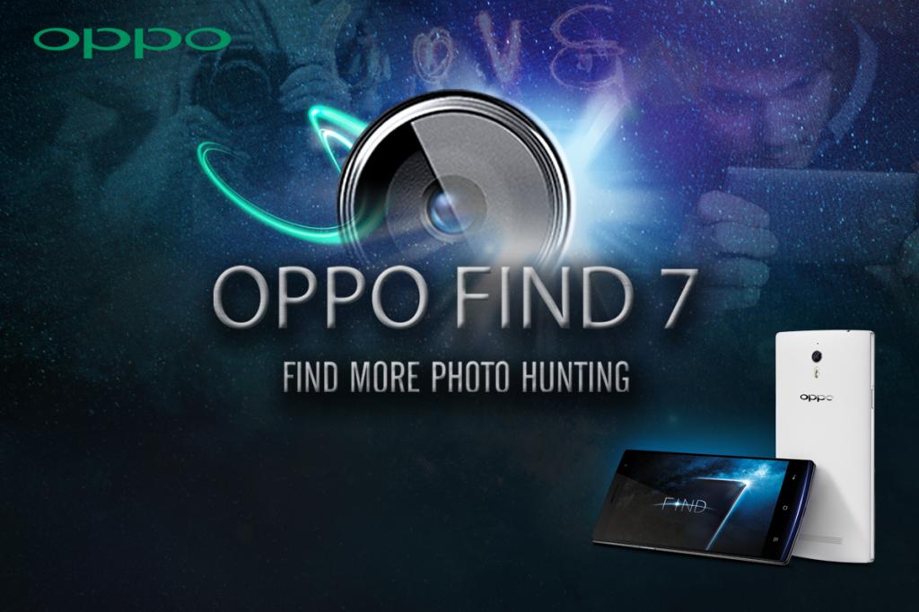 OPPO FIND 7 Find More Photo Hunting กิจกรรมสำหรับผู้รักการถ่ายภาพ ชิงรางวัลมูลค่ากว่า 240,000 บาท
