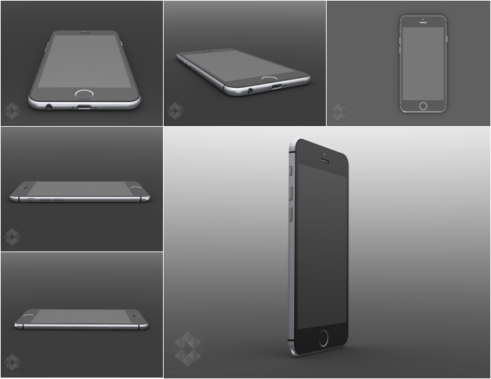 iPhone 6 Render Mockup