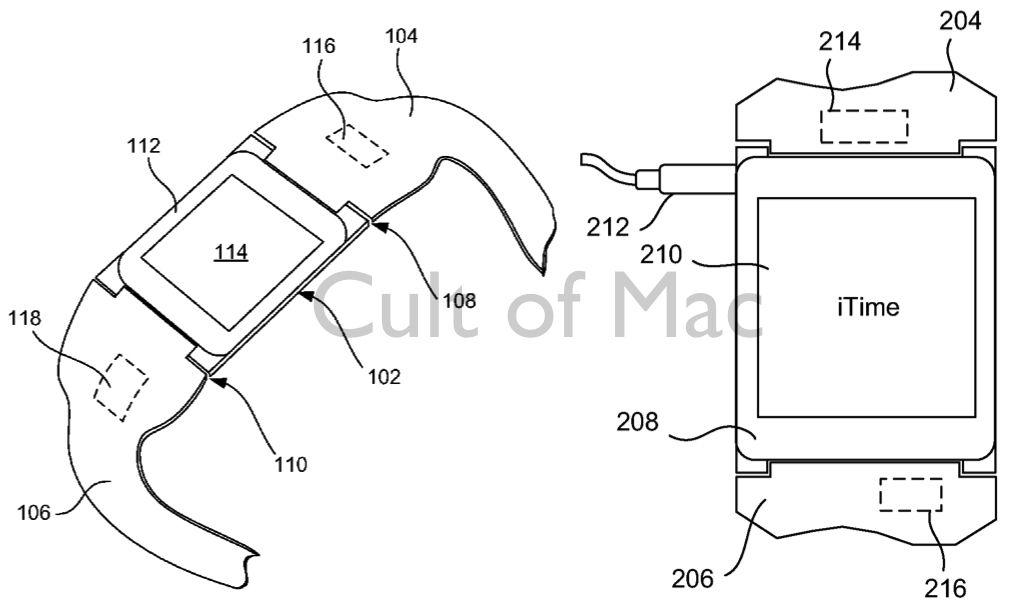 สิทธิบัตรของ Apple ชี้ SmartWatch ของ Apple อาจจะชื่อ iTime