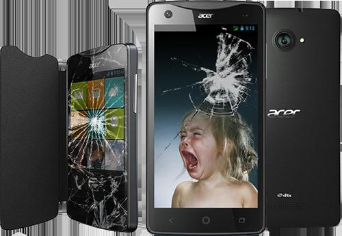 มือถือ-แท็บเล็ต Acer ตก จอแตก เสียค่าซ่อมเท่าไหร่มาดูกัน