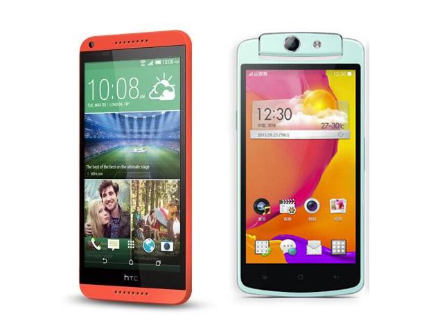 [PR] เปรียบเทียบ 2 สมาร์ทโฟนมาแรง 2 รุ่นฮิต OPPO N1 mini และ  HTC Desire 816