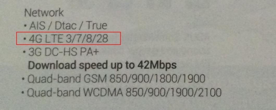 Asus Zenfone LTE spec