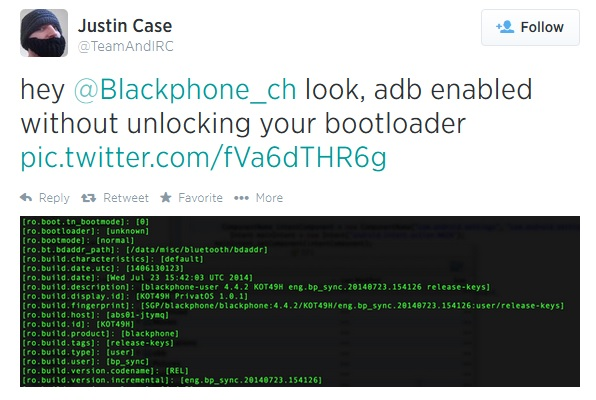 Blackphone-Rooted