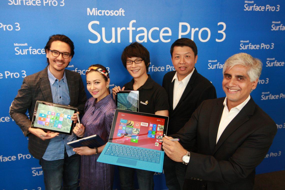 [PR] ไมโครซอฟท์เปิดตัว Surface Pro 3 – สร้างนิยามใหม่ของการทำงานอย่างเต็มประสิทธิภาพ
