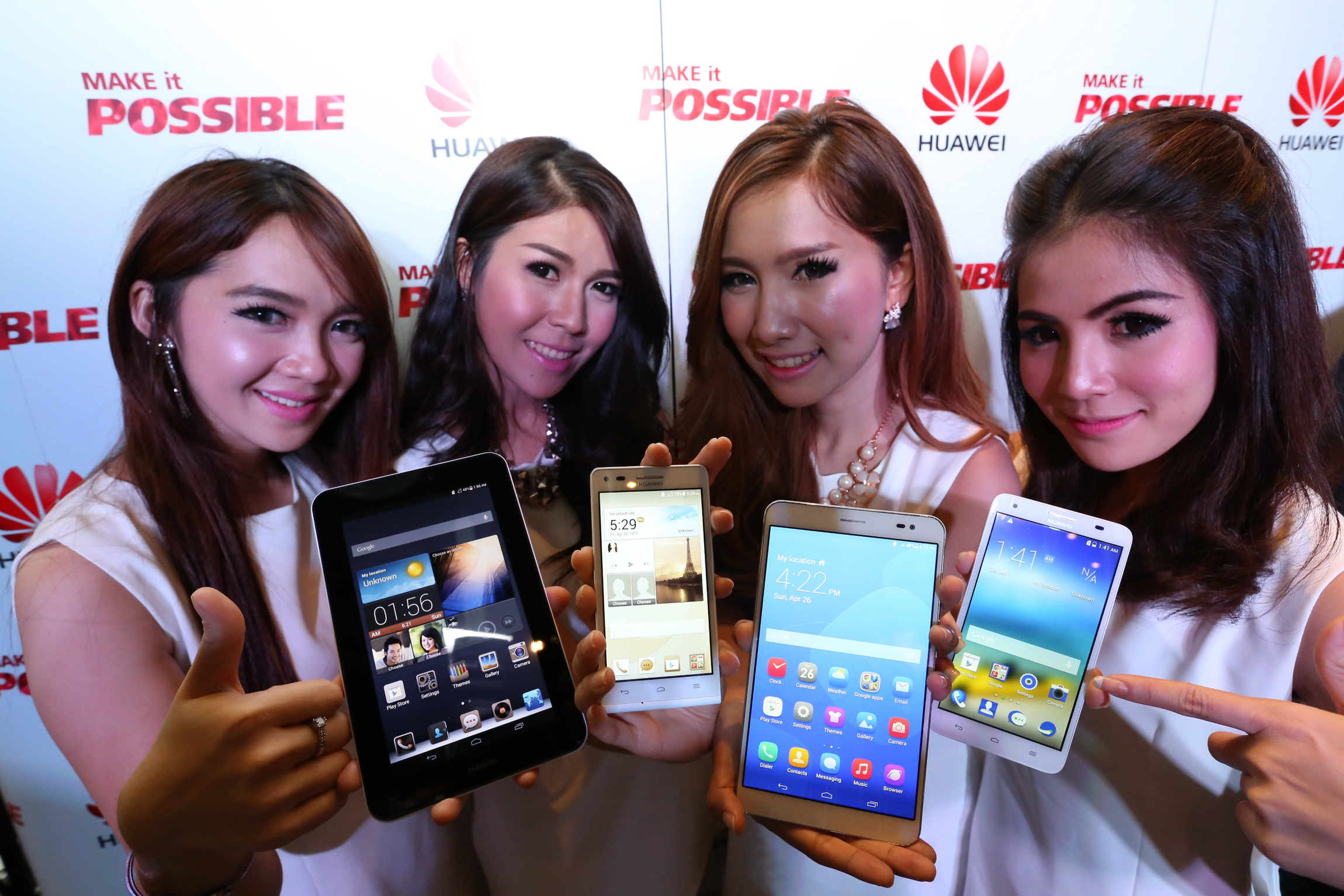 [PR News] HUAWEI (หัวเว่ย) ผู้นำตลาดมือถือโลก เผยโฉมสมาร์ทโฟนและแท็บเล็ต 4 รุ่นล่าสุดสู่ตลาดเมืองไทย