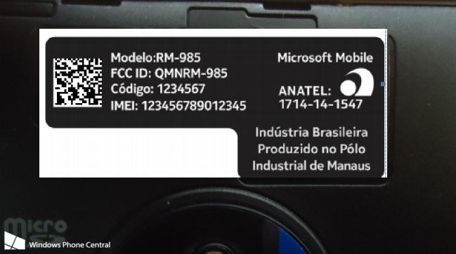 พบเครื่อง Nokia Lumia 830 มาพร้อมกับแบรนด์ Microsoft Mobile